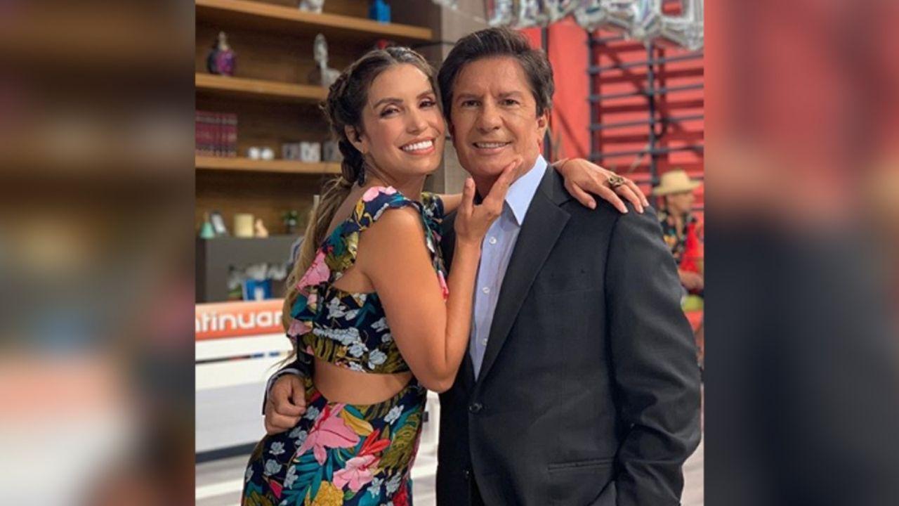 Mas Operado Que Tu Andrea Escalona Presenta A Su Papa En Hoy Y Los Destrozan Tribuna