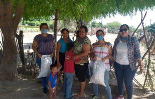 Universidad y productores unen esfuerzos para llevar comida a Centro de Desarrollo Comunitario