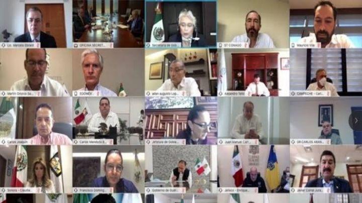 Segob se reúne con gobernadores para analizar reactivación de actividades