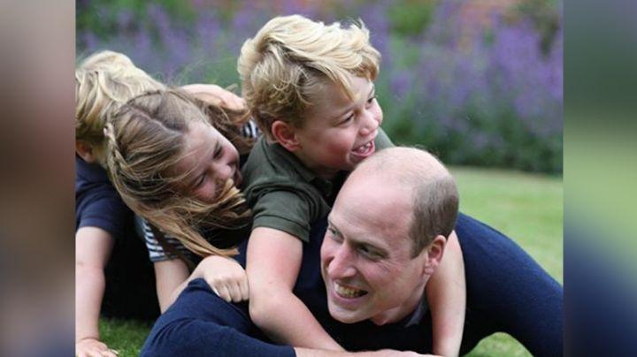 ¡Qué ternura! William celebra el Día del Padre y su cumpleaños 38 con inéditas fotos con sus hijos
