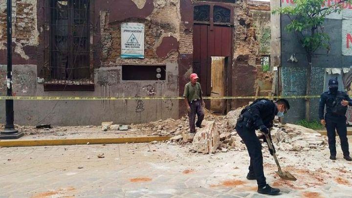 Van dos muertos en Oaxaca por sismo de 7.5 grados, confirma Murat