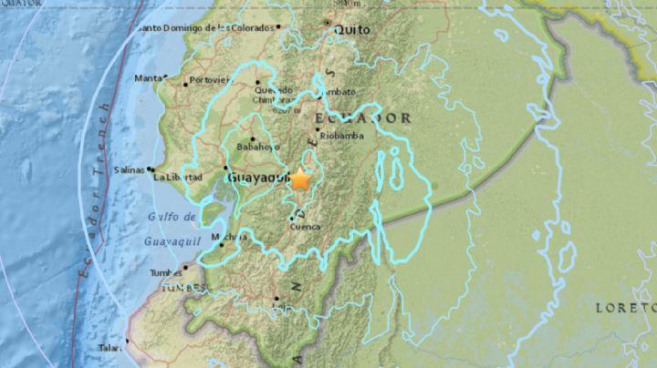 Sismo con magnitud de 4.7 grados sacude al noreste de Ecuador