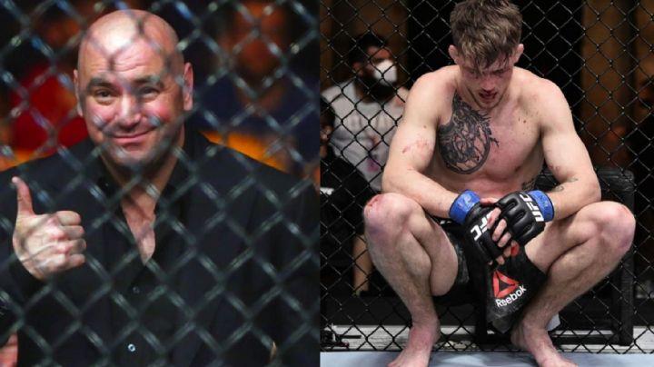 Escándalo en la UFC: Peleador pide a su entrenador que detenga la pelea y este se niega