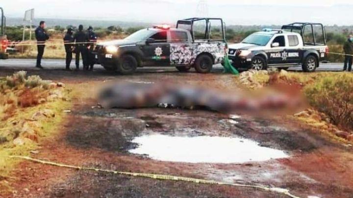 Terror en Zacatecas: Abandonan 15 cadáveres encobijados al lado de una carretera