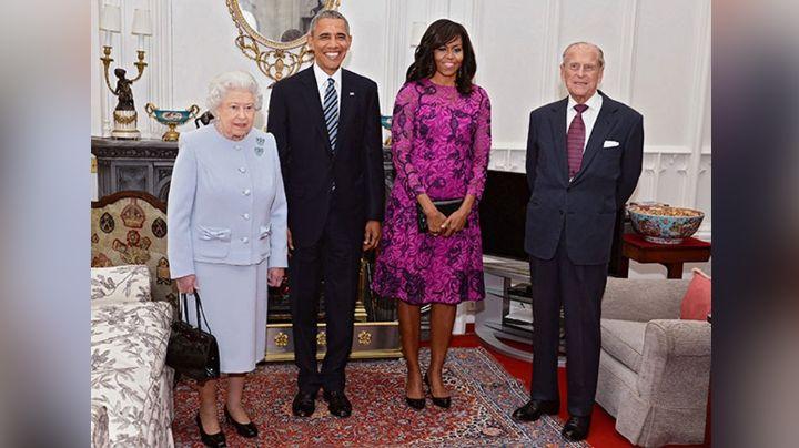 Reina Isabel II 'rompe' en llanto frente a Barack Obama por este emotivo motivo