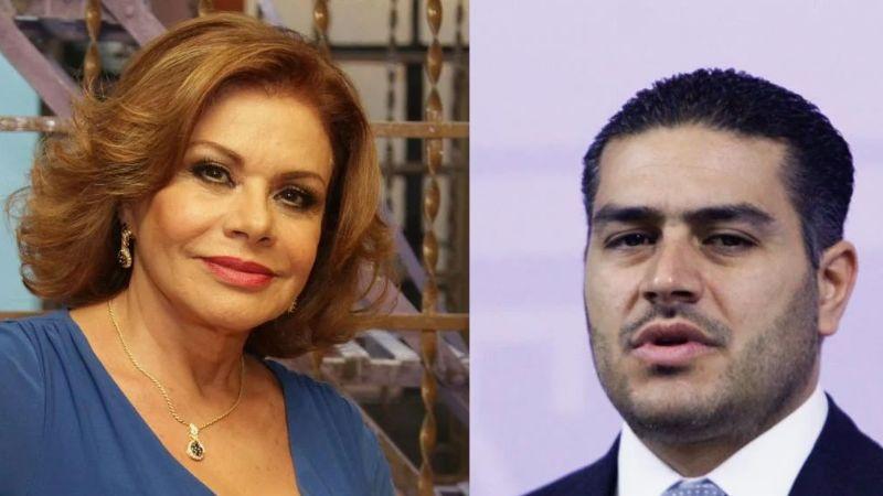 María Sorté decide quedarse callada tras el atentado de su hijo Omar García Harfuch