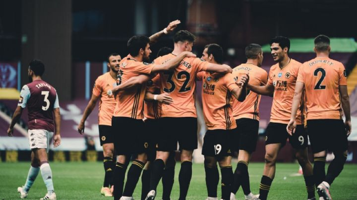 Raúl Jiménez y los Wolves acarician la Champions con su victoria contra Aston Villa