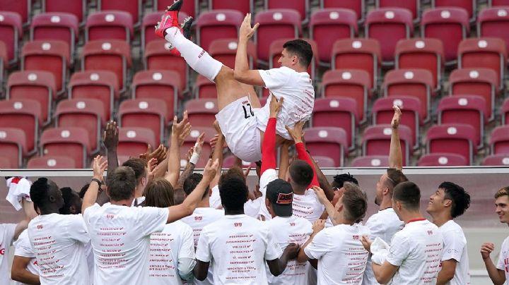 Mario Gómez anuncia su retiro luego de darle el ascenso al Stuttgart
