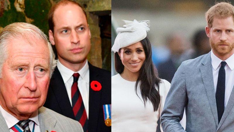 """No fue Meghan: William y Carlos planearían el Megxit para deshacerse del """"incómodo Harry"""""""