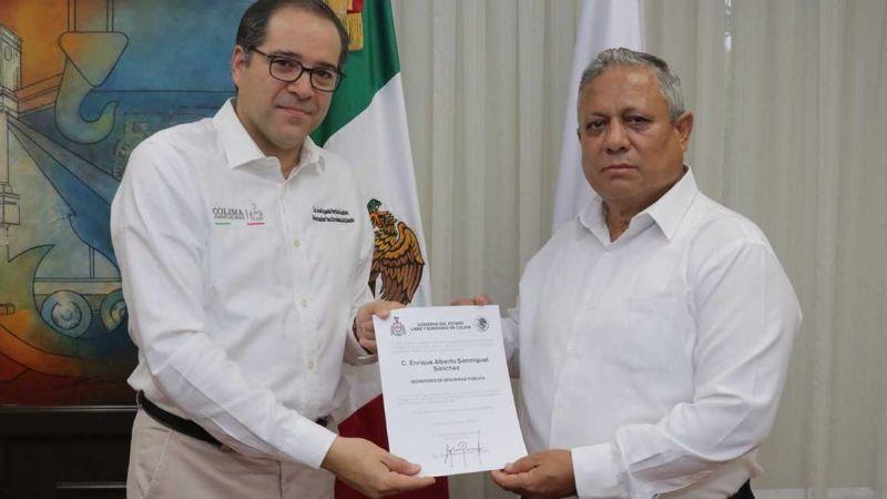 Renuncia secretario de Seguridad en Colima tras muerte de policías y una diputada