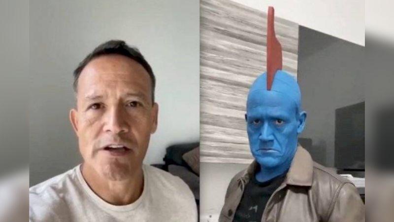 'El Matador' se transforma en 'Yondu' de 'Guardianes de la Galaxia' y James Gunn reacciona