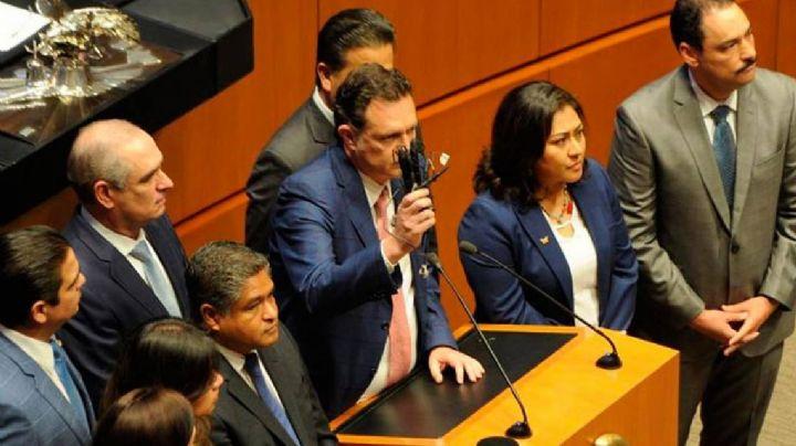"""FGR revela que el supuesto espionaje expuesto por el PAN en el Senado fue """"un montaje"""""""