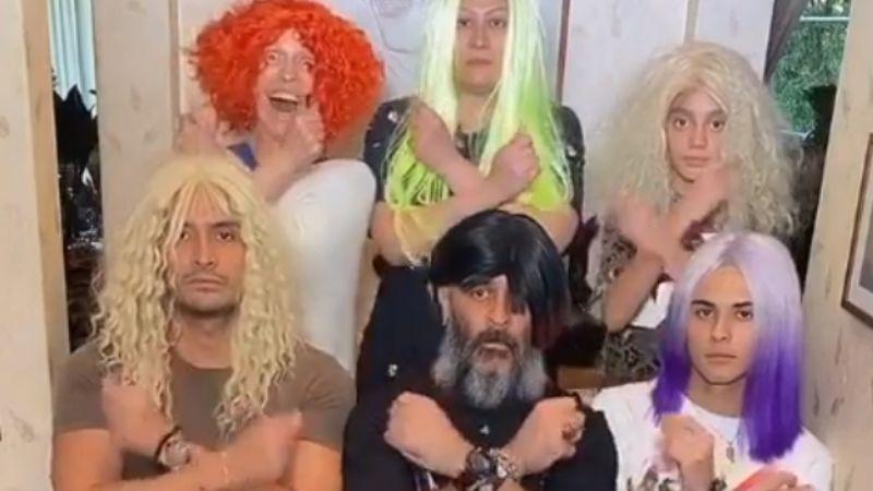 Al estilos de 'Los locos Addams', Yuri y su familia 'la rompen' en TikTok con gracioso video