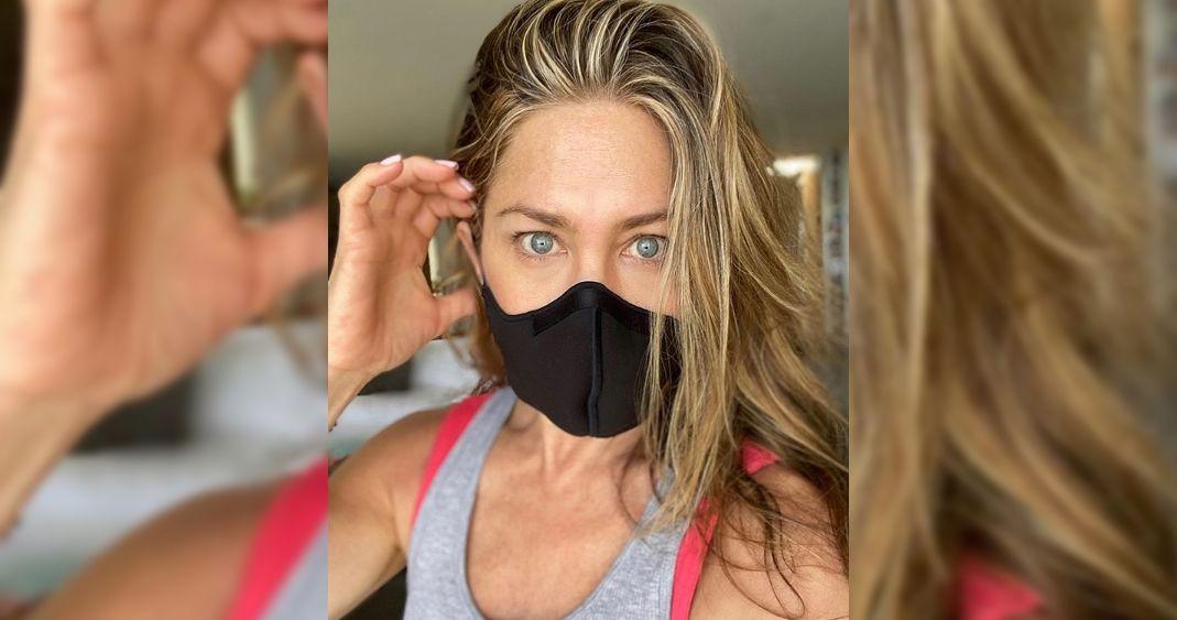 Reflexión de Jennifer Aniston sobre usar mascarillas se hizo viral
