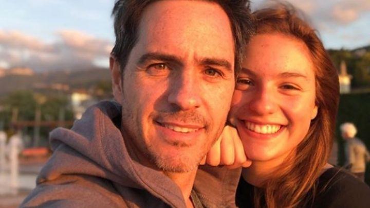 Mauricio Ochmann vacaciona con su hija mayor y se olvidaría de Kai, hija de Aislinn Derbez