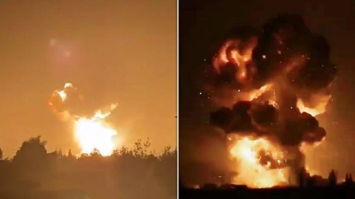 Explosión en fábrica de fuegos artificales china deja 6 heridos; dos en estado crítico