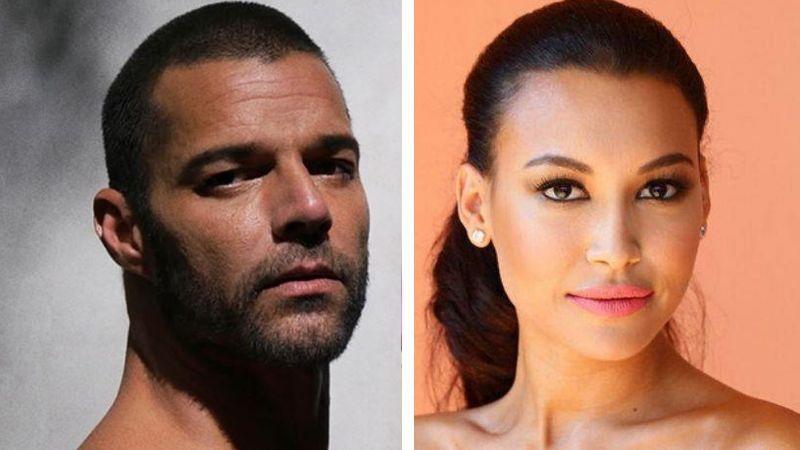 Ricky Martin recuerda a Naya Rivera con melancólica fotografía juntos
