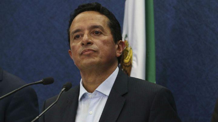 Carlos González, gobernador de Quintana Roo, da positivo a prueba de Covid-19