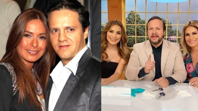 Él es el cirujano que enamoró a Galilea Montijo en 'Hoy', la traicionó ¡y se fue a TV Azteca!