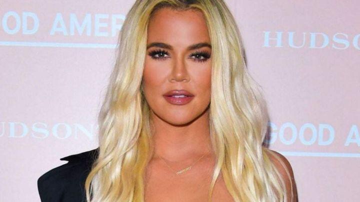 ¿En crisis? Khloé Kardashian vende atuendos prestados del diseñador Christian Cowan