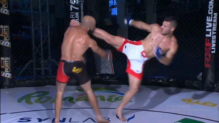VIDEO: Brutal patada en la cara deja a peleador de la MMA desmayado en la lona