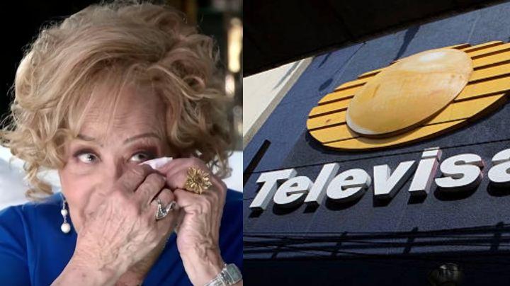 ¿Grave y olvidada por Televisa? Actriz deja en shock con fuerte noticia sobre Silvia Pinal