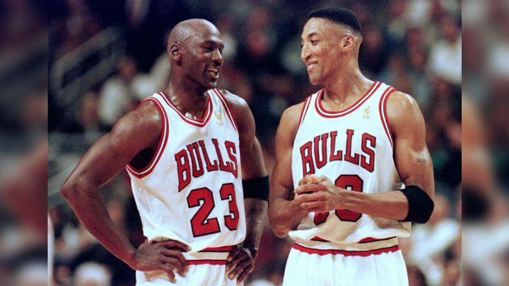 """Periodista asegura que la relación de Michael Jordan y Scottie Pippen """"no es buena ahora"""""""