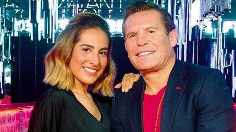 """""""Mi papá no quería"""": Julio César Chávez le negaría a su hija trabajar en Televisa"""