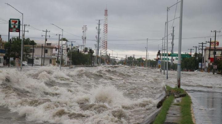 Alcaldes de Nuevo León piden ayuda a AMLO para enfrentar estragos por 'Hanna'