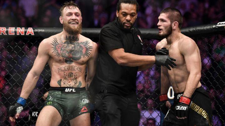 Conor McGregor se olvida de la rivalidad y lamenta la muerte del padre de Khabib