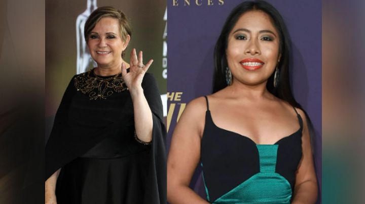 Adriana Barraza sale en defensa de Yalitza Aparicio tras críticas por ser miembro de la Academia