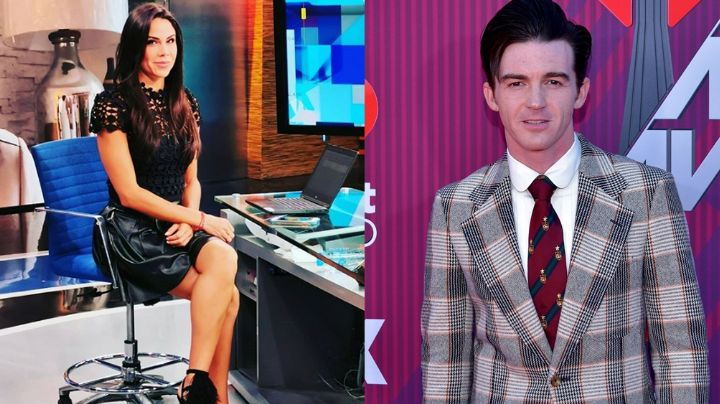 """Paola Rojas estremece Televisa junto a Drake Bell en vestido negro: """"A ver anden"""""""