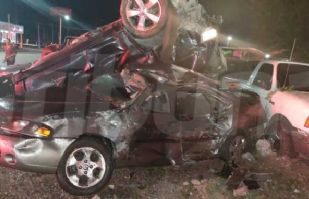 Al menos tres personas mueren en fuerte choque al sur de Ciudad Obregón