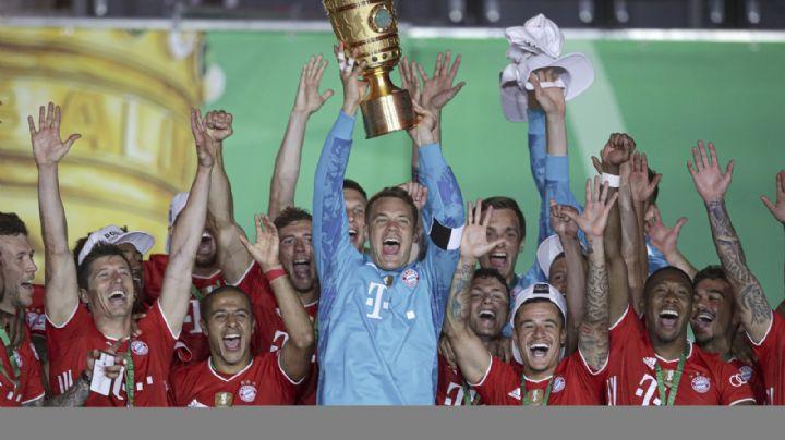 Bayern conquista la Copa de Alemania y completa el doblete de la Bundesliga