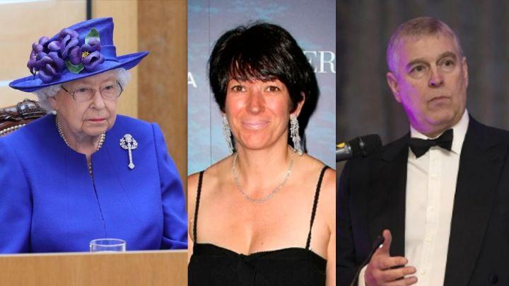 ¡Tiembla Andrés! Filtran foto de ex de Epstein al hacer fuerte grosería a la Reina Isabel II