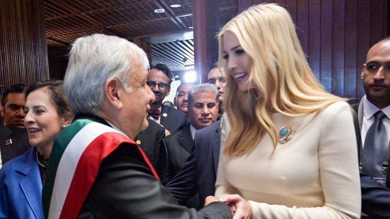 """Ivanka Trump da cálida bienvenida a AMLO en su visita a EU: """"Esto profundizará nuestra amistad"""""""
