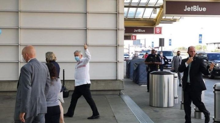 AMLO regresa a México luego de cumplir con su visita a Donald Trump
