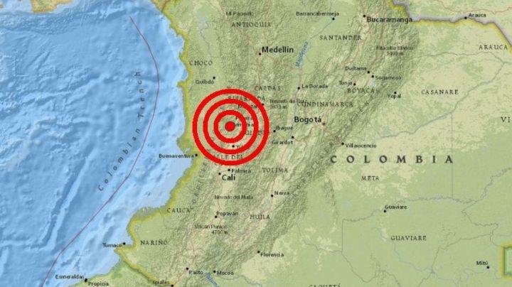 Fuerte sismo de 5.5 grados se siente en varias zonas del centro de Colombia