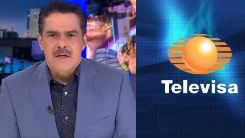 """Televisa da dura noticia a Javier Alatorre tras filtrarse su """"despido"""" de TV Azteca"""