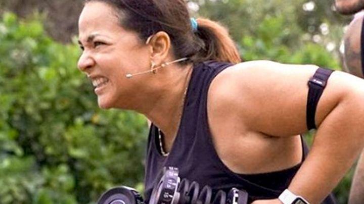 A pesar del mal clima, Adamari López no se rinde y sigue en el reto por bajar de peso