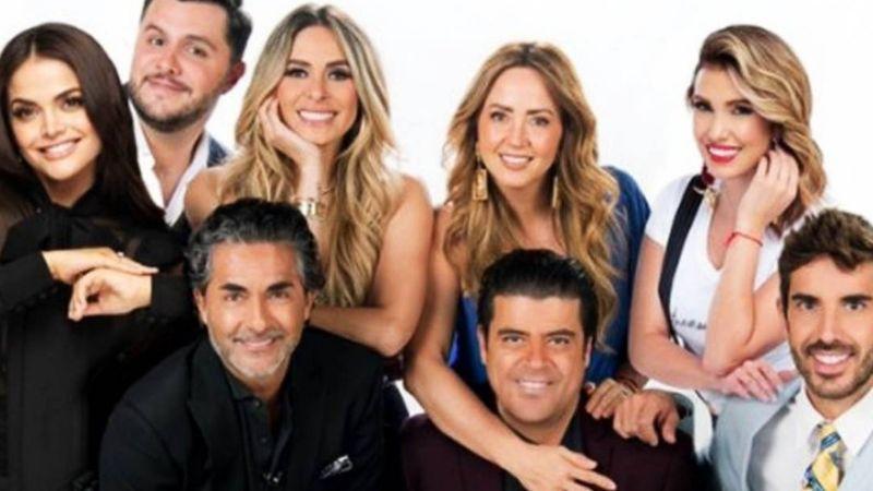 """¿Borracho? Conductor de 'Hoy' 'traiciona' a productora en vivo: """"A mí no me interesa Magda"""""""