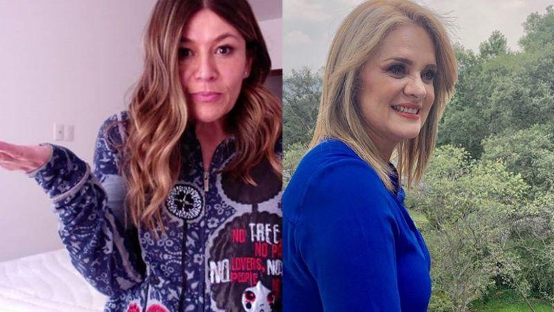 """Martha Figueroa niega burlas a hijo de Érika Buenfil y envía mensaje a la actriz: """"Que le baje"""""""
