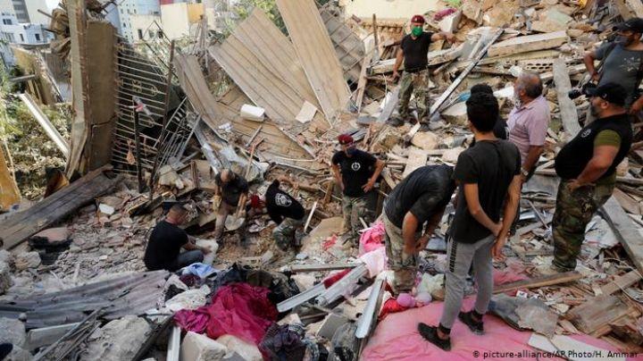 Aumentan a 171 los muertos por la explosión en Beirut; hay más de 250 mil personas sin hogar