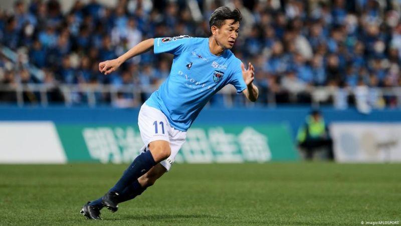 Miura, un 'Supercampeón' real: El futbolista más viejo en jugar un partido profesional
