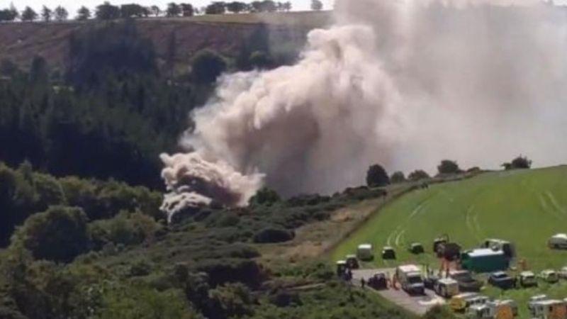 Tren se descarrila tras las fuertes lluvias en Escocia; hay 3 muertos y 6 heridos