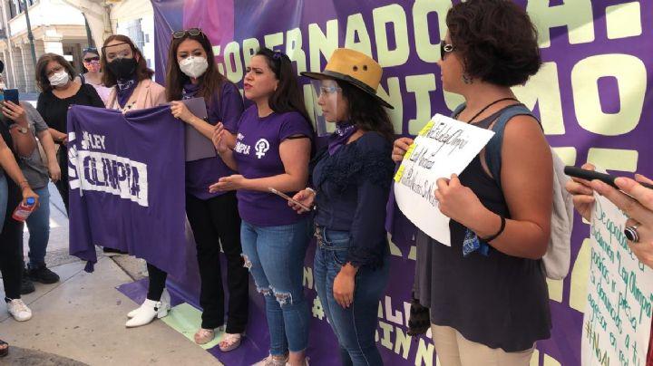 """""""Lo que les han dicho de la #LeyOlimpia, es un engaño"""": Olimpia Coral"""