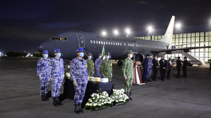 SRE repatría a México, cenizas de fallecidos por Covid-19 en EU