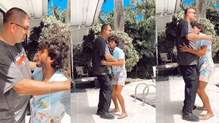 ¿Es gay? Captan a Sebastián Yatra al bailar muy abrazo con otro hombre