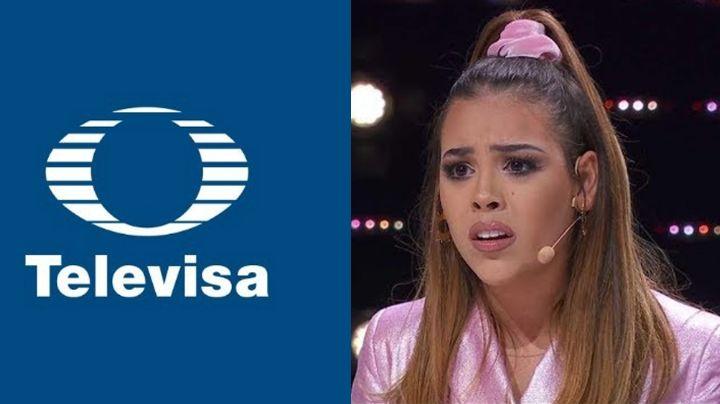 """Por """"ardidos"""" cancelan a Televisa tras vetar a Danna Paola y censurar su show en los Premios Juventud"""