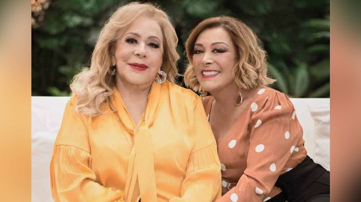 """Sylvia Pasquel dedica  mensaje a su madre Silvia Pinal en su cumpleaños: """"Mi diva preciosa"""""""